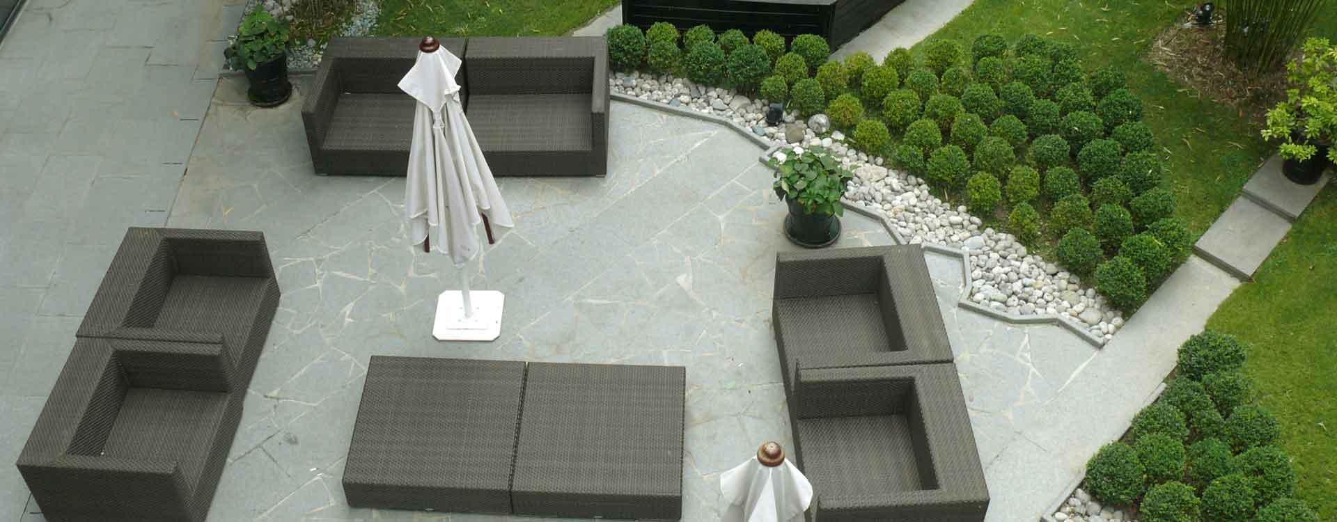Une entreprise de réalisation de terrasse en pierre naturelle