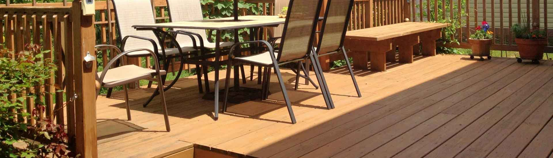 La terrasse en bois exotique pour votre extérieur