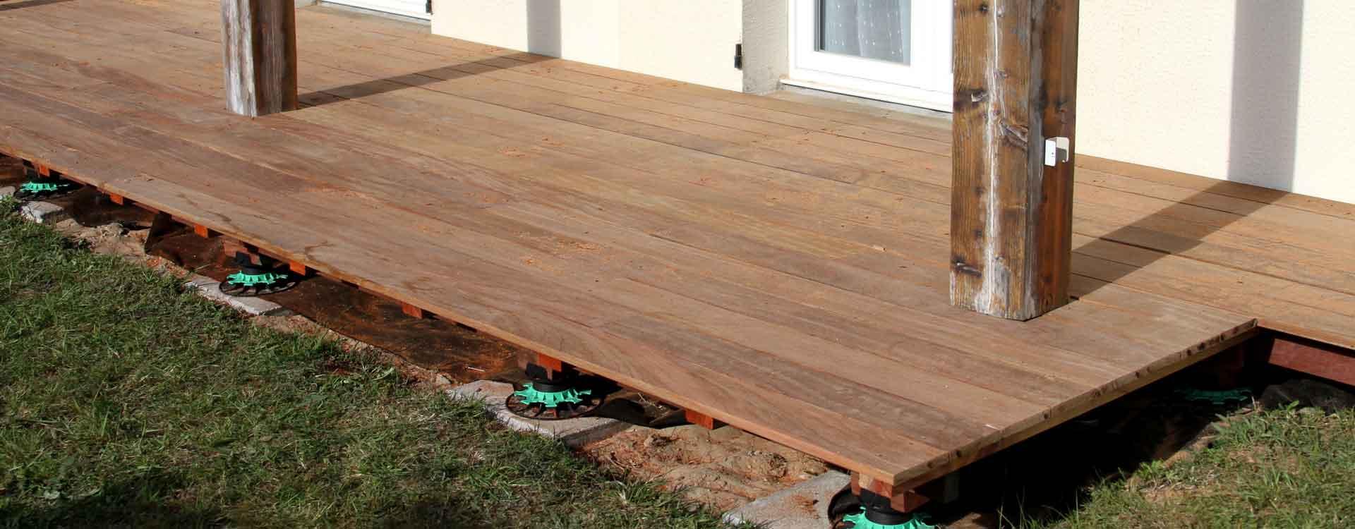 Contactez notre entreprise de pose de terrasse en bois